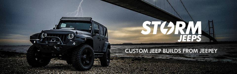 Storm Jeeps - Custom Jeep Builds from Jeepey